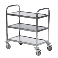 Warrior Stainless Steel Trolley (KM 60351)