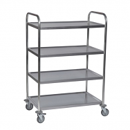 Warrior Stainless Steel Trolley (KM 60356)