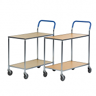 Warrior Shelf Trolley (Beech) - supplied Knock-Down