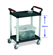 Warrior 2 Shelf Trolley (Standard)