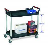 Warrior 2 Shelf Trolley (Large)