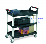 Warrior 3 Shelf Trolley (Large)