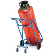 Warrior 47kg Propane Cylinder Trolley with Rear Wheels