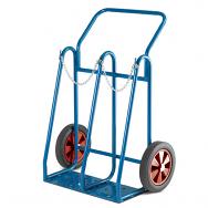 Warrior 200kg Oxygen Acetylene Cylinder Trolley