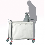 Warrior Quad Laundry Trolley (Sack)