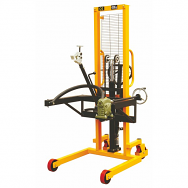 Warrior 450kg Drum Tippling Stacker Truck